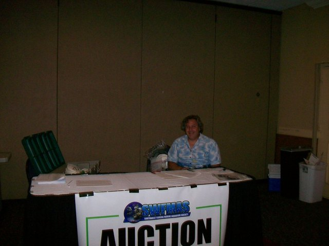 Charlie @ The Auction Table
