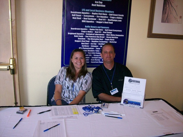 Becky and Mike @ The Membership Table